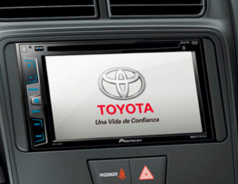 Radio touchscreen | Toyota Avanza