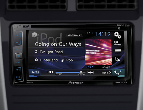 Nuevo radio touchscreen | Toyota Agya