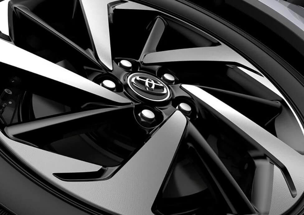 Rines de aluminio Toyota