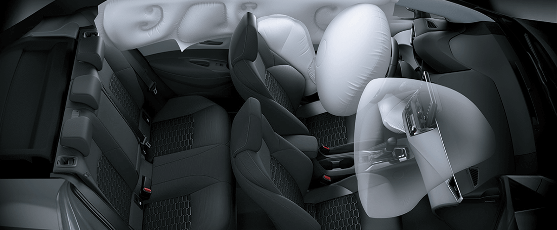 Seguridad de un auto híbrido Toyota