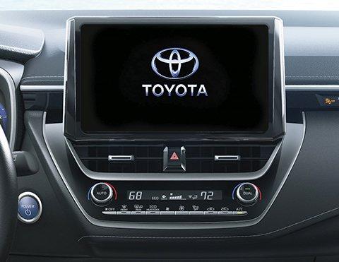 Sistema de audio | Carros Híbridos Toyota HB