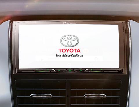 Sistema de audio de alta calidad para autos | Toyota Yaris