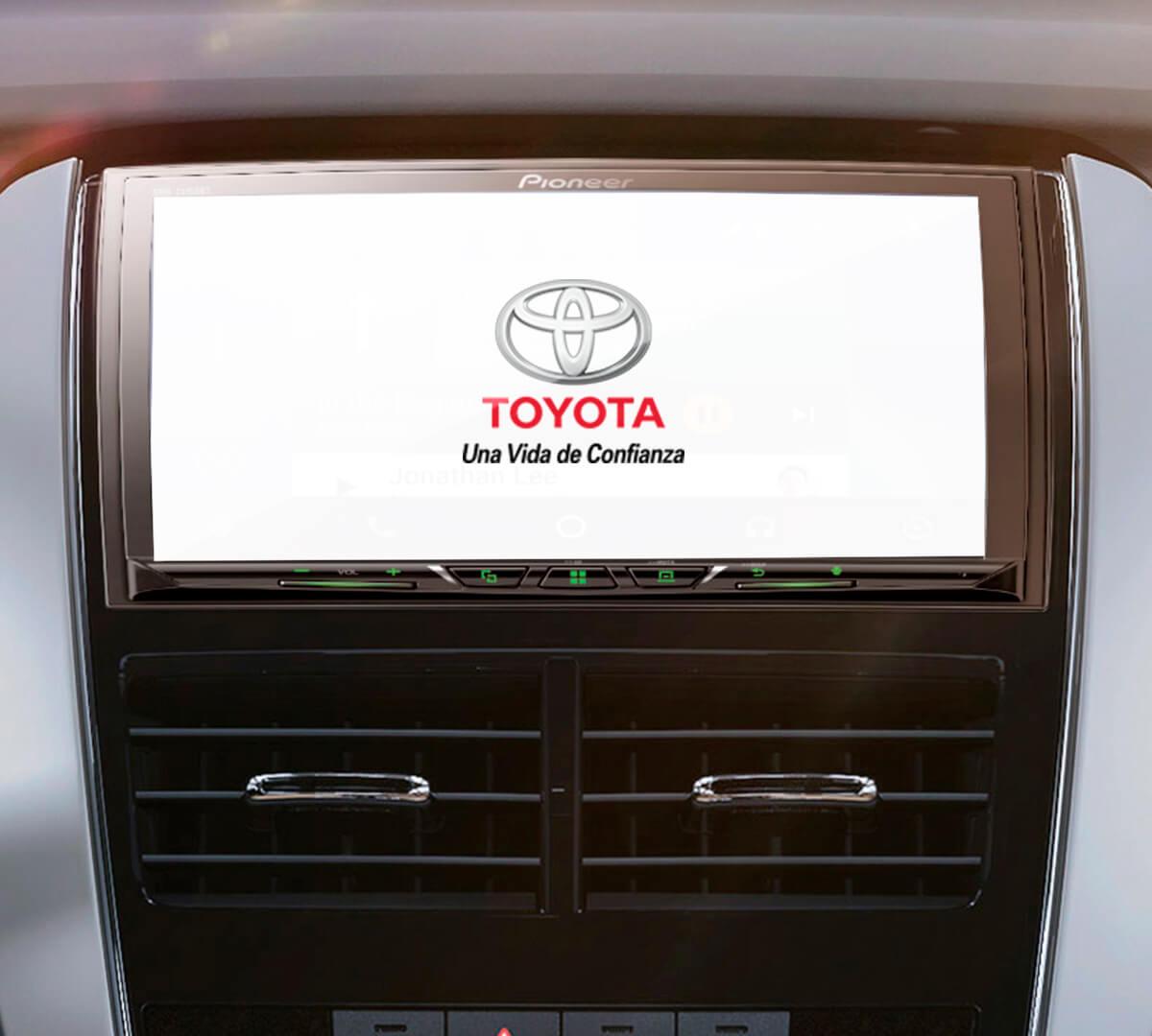 Sistema de audio del Toyota Yaris 2021- 2022