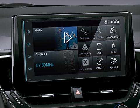 Sonido de autos híbridos   Toyota Corolla