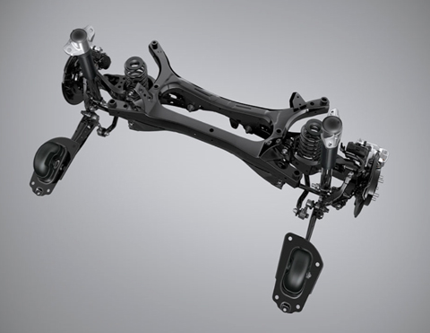 Suspensión de Carros Híbridos   Toyota Corolla