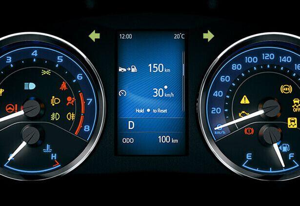 Tablero de instrumentos Toyota Corolla