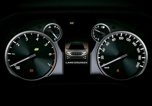Tablero digital Toyota