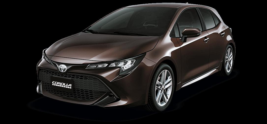 Toyota automóvil Corolla Marron