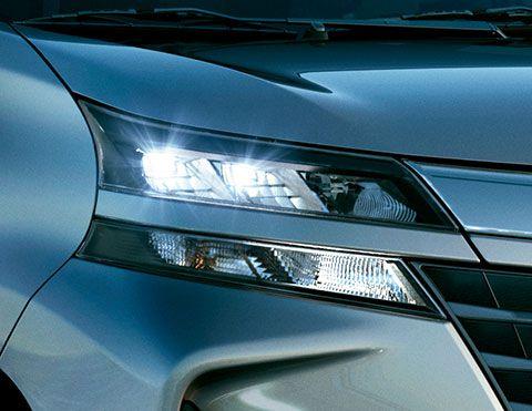 Faros delanteros | Toyota Avanza