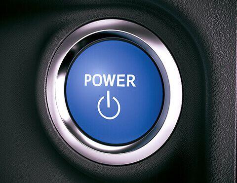 Toyota botón de encendido