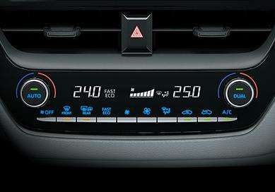 Toyota climatizador dual