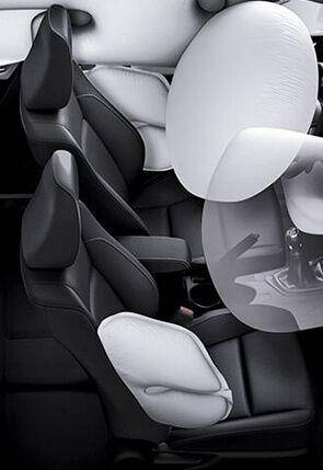 Automóvil Toyota Corolla airbag