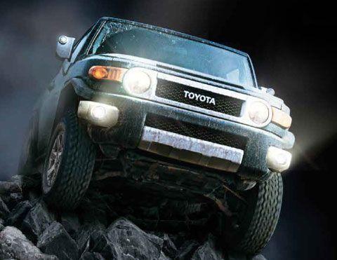 Camioneta 4x4 Toyota FJ Cruiser