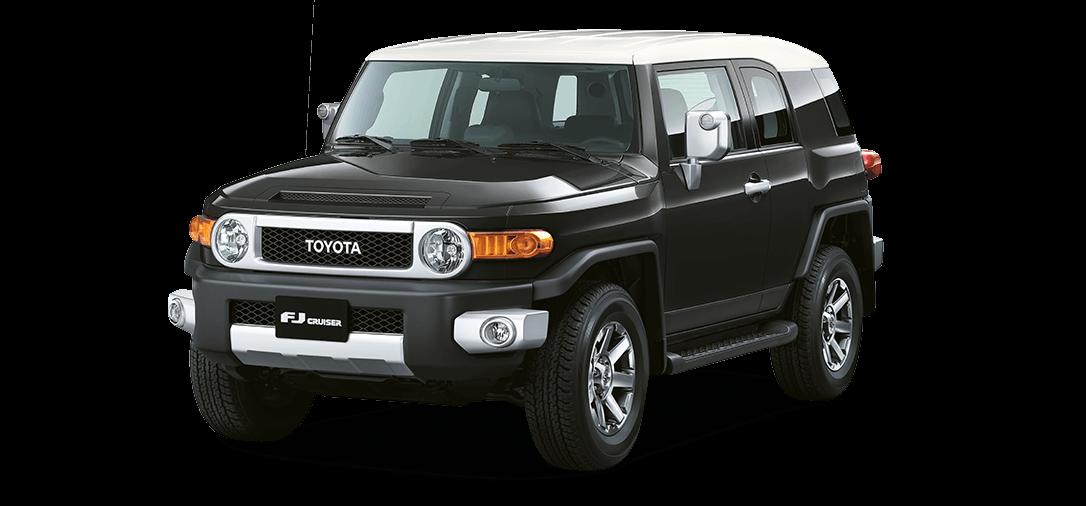 Camioneta Toyota FJ Cruiser negro