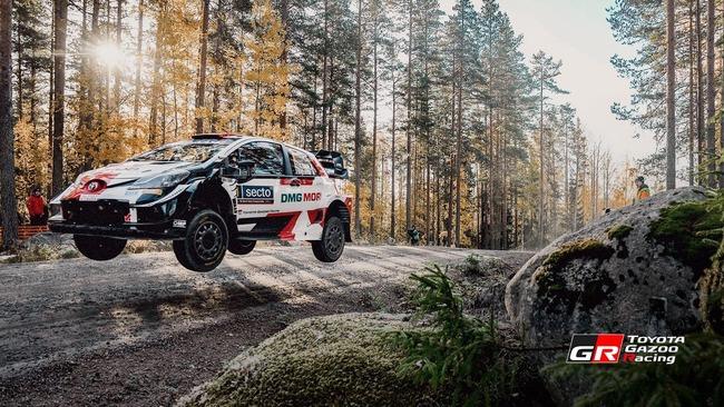 Toyota Gazoo Racing compite en Finlandia