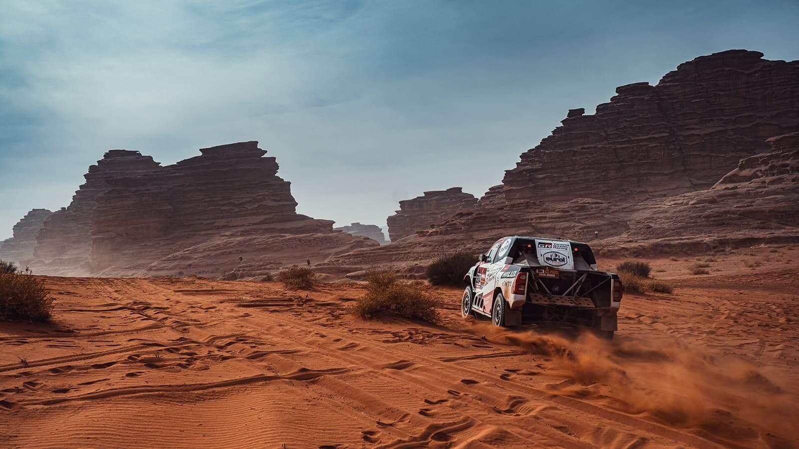 Toyota Gazoo Racing entre los mejores del Rally Dakar 2021
