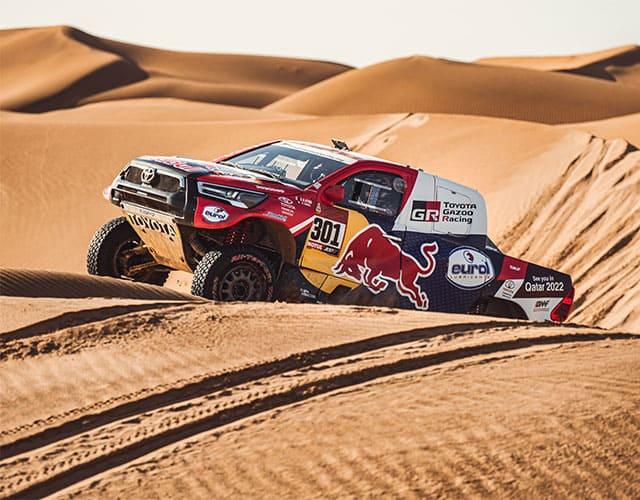 Toyota Hilux Gazoo Racing dentro de las ganadoras del Rally Dakar 2021.