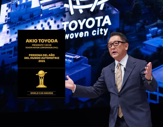 Toyota presente en los World Car Awards 2021