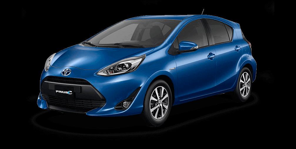 Toyota Prius c azul