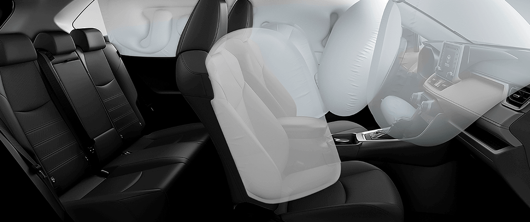 Camioneta Toyota Rav4 airbag