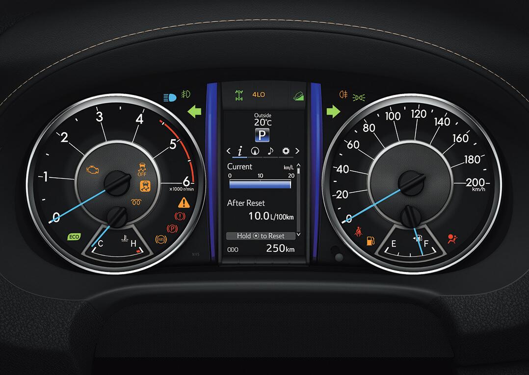 Velocidad de las camionetas off road Toyota Fortuner