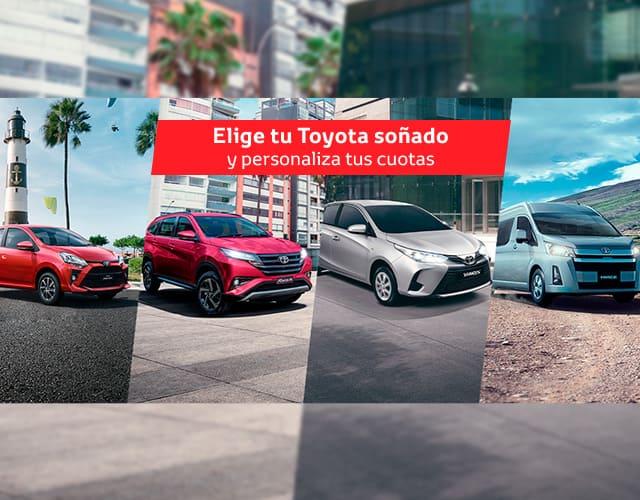 Venta de autos Toyota a crédito en Perú