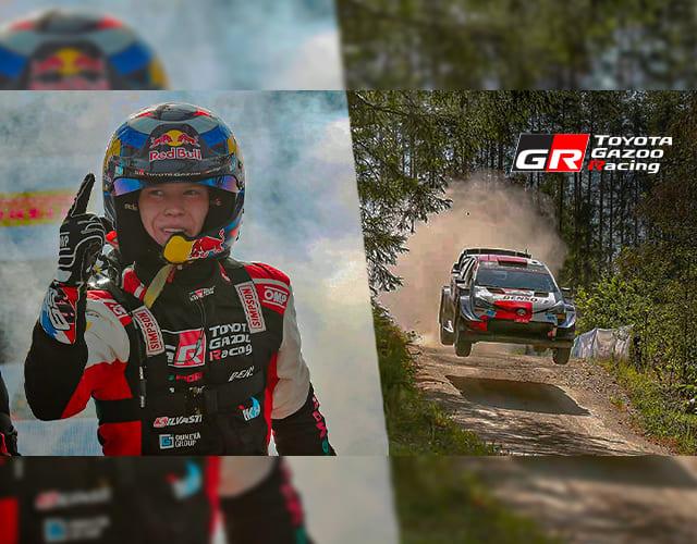 Victoria Yaris WRC en Rally Estonia - Toyota Gazoo Racing