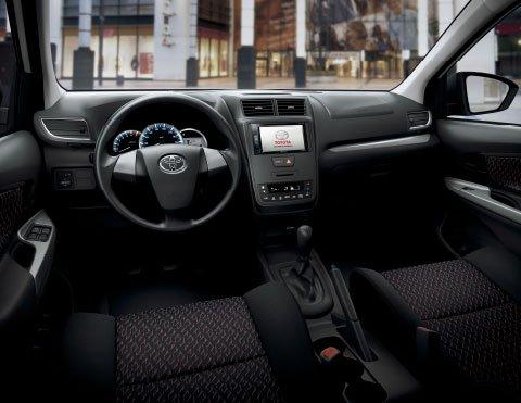 Comodidad al volante | Camioneta Avanza