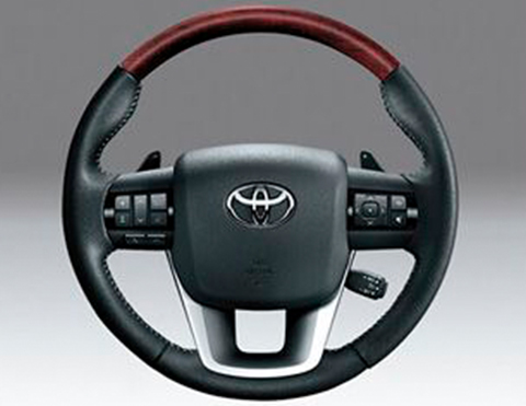 Volantes de las camionetas Toyota Fortuner